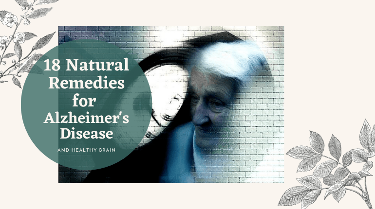 natural remedies for alzheimer's disease