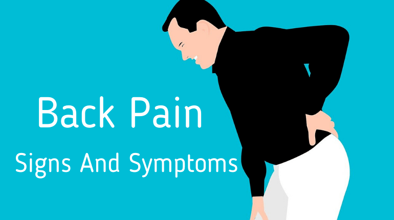Back Pain Signs And Symptoms