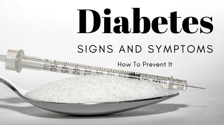 what is the signs and symptoms of diabetes