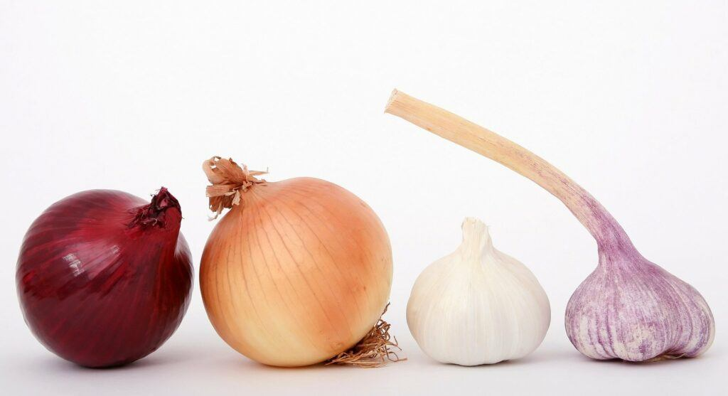 Garlic And Onion For Cold Relief